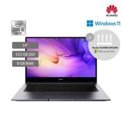 "HUAWEI - HUAWEI MateBook D14 14"" 8GB DDR4 512GB SSD Windows 10 Home"