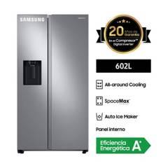 SAMSUNG - Refrigeradora SBS 602L RS60T5200S9/PE