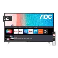 AOC - Televisor LED Smart TV 4K UHD 50U6295