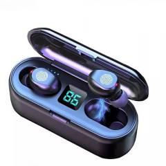 KAST.PE - Audífonos  2 en 1 F9 con Power Bank