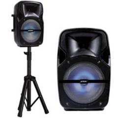 """PROLINK - Parlante con Trípode 8"""" Bluetooth Karaoke"""