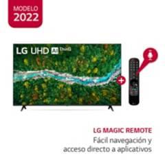 "LG - Televisor 65"" LG UHD 4K Ultra HD ThinQ AI 65UP7750PSB (2021)"