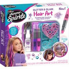 CRA Z ART - Set Shimmering Metallic Hair Art