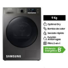 SAMSUNG - Secadora OptimalDry 9 kg DV90TA040BX/PE