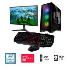 INTEL - PC Gamer CORE I7 RAM 16GB Disco 1TB RX 550 4GB