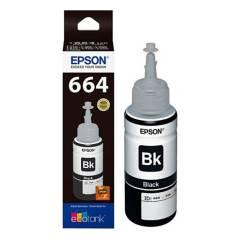 EPSON - Tinta T664120 Negro- Sistema Continuo