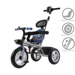 VOYAGE - Triciclo Guiador Azul