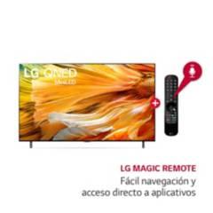 """LG - Televisor 75"""" LG MINI LED 4K Ultra HD ThinQ AI 75QNED90PSA (2021)"""