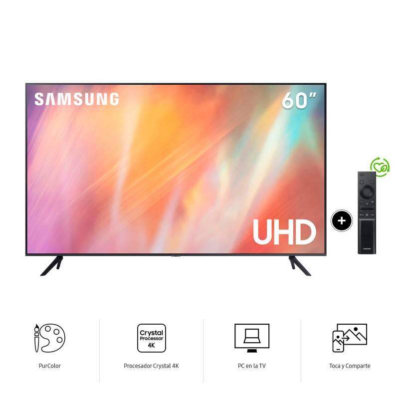 SAMSUNG - Televisor UHD 4K 60AU7000