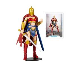 MC FARLANE - Figura De Colección Mujer Maravilla c/Casco del Destino 17cm