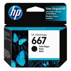 HP - Cartucho De Tinta HP 667 Negro Original