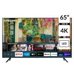 SAMSUNG - Televisor CRYSTAL 4K UN65AU7000GXPE Modelo 2021