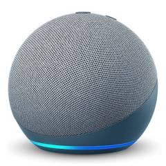 AMAZON - Amazon Echo Dot 4 Parlante Inteligente con Alexa Azul