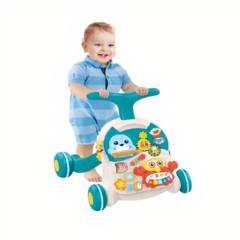 GENERICO - Caminador para Bebes 2 e 1 Mesita Didactica
