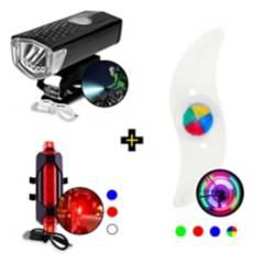 SM - Kit de Iluminación para Bicicleta