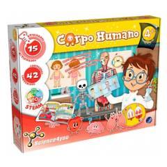 SCIENCE 4U - Kit Ciencia Cuerpo Humano