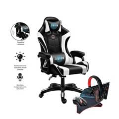 SM - Silla Gamer con Vibraciones + Pack Gamer 4 en 1