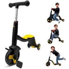 SM - Scooter Triciclo 3 en 1 Musical Niños