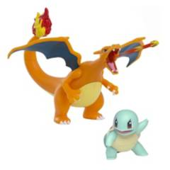 POKEMON - Pack Charizard + Squirtle