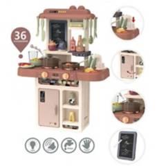 GENERICO - Cocina De Niña Kitchen de 36 accesorios