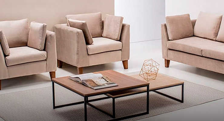 Muebles for Modelos sillones para living modernos
