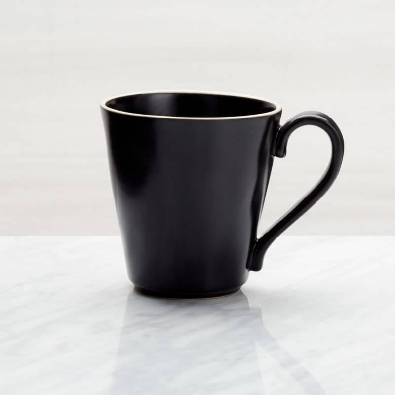 CRATE & BARREL - Mug Sloan Negro