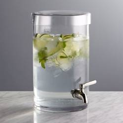 CRATE & BARREL - Dispensador de Bebidas Frias 1.5g