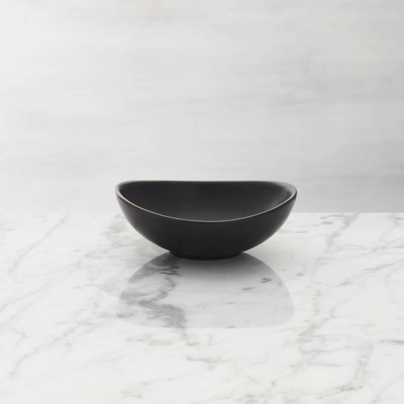 CRATE & BARREL - Mini Bowl Negro
