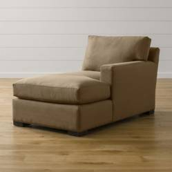 CRATE & BARREL - Chaise Lounge Brazo Derecho Axis II
