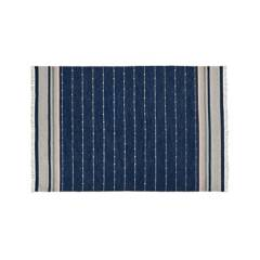 CRATE & BARREL - Alfombra de Interiores/Exteriores Inavi Azul 183x274cm