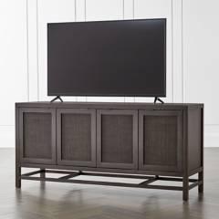 CRATE & BARREL - Mueble para Media Blake Carbón 173 cm