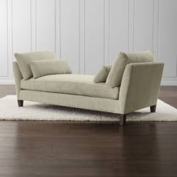 CRATE & BARREL - Chaise Longue Marlow