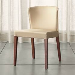 CRATE & BARREL - Silla Curran Crema