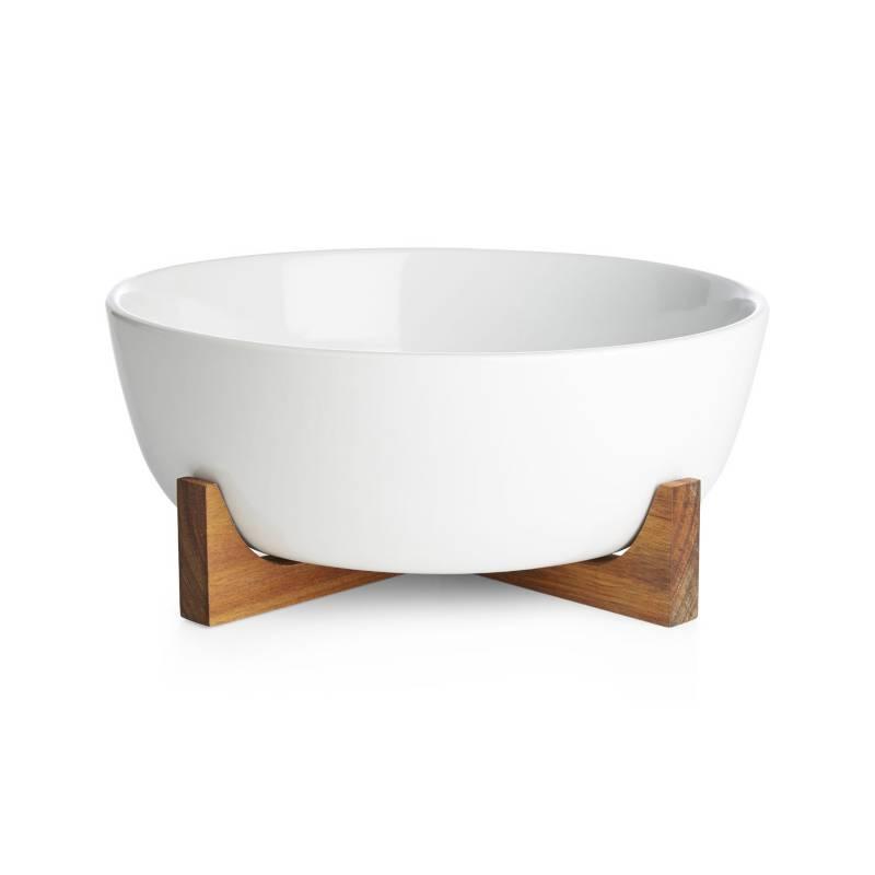 CRATE & BARREL - Oven-To-Table Bowl Con Salvamanteles