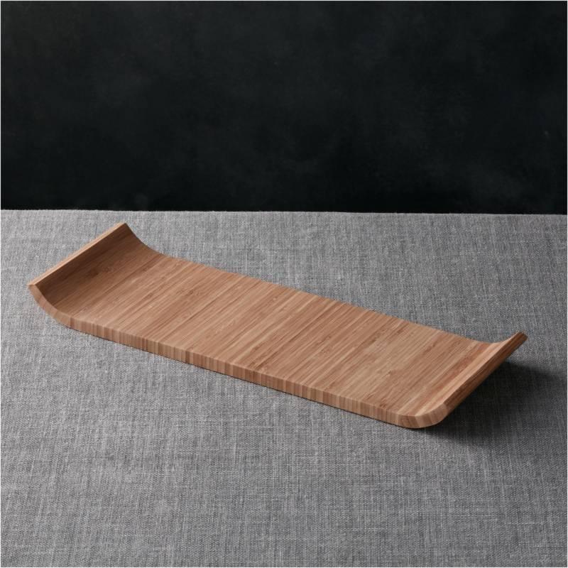 CRATE & BARREL - Tabla de Bambú