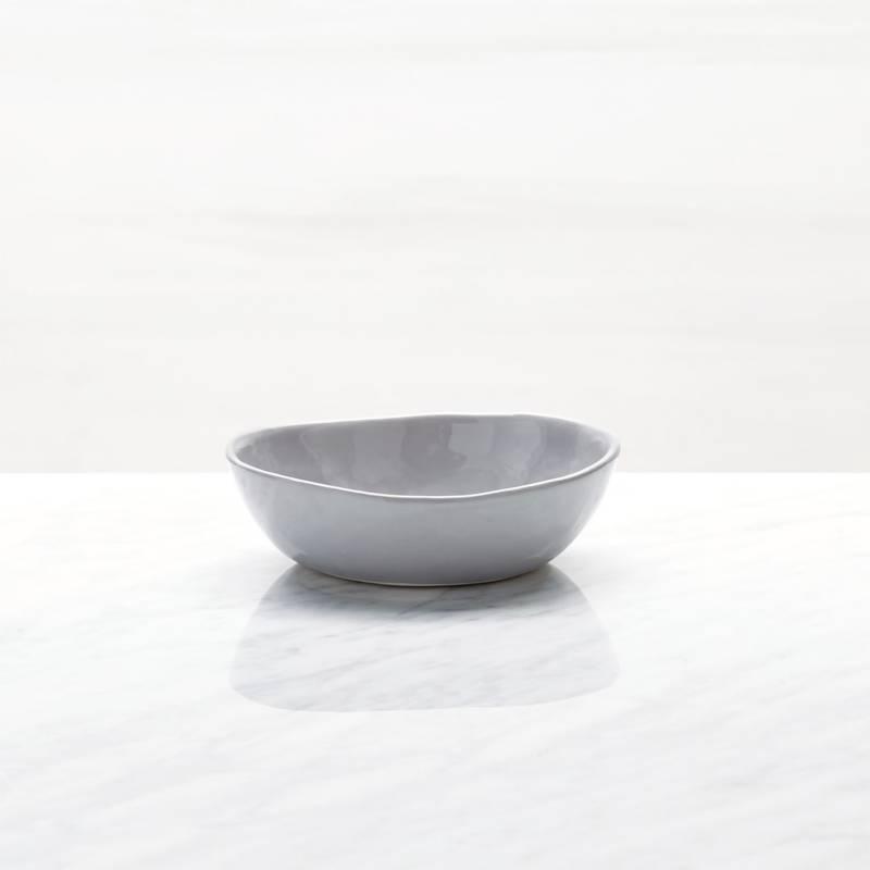 CRATE & BARREL - Mini Bowl Mercer Gris