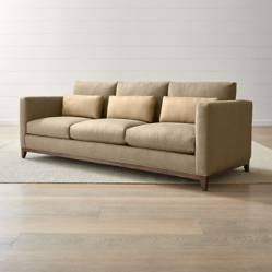 CRATE & BARREL - Sofa 4 Cuerpos Taraval