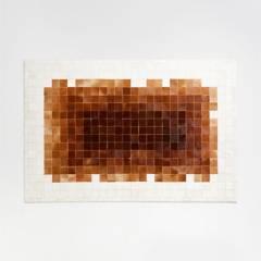 CRATE & BARREL - Alfombra de Cuero Murney 152x244cm