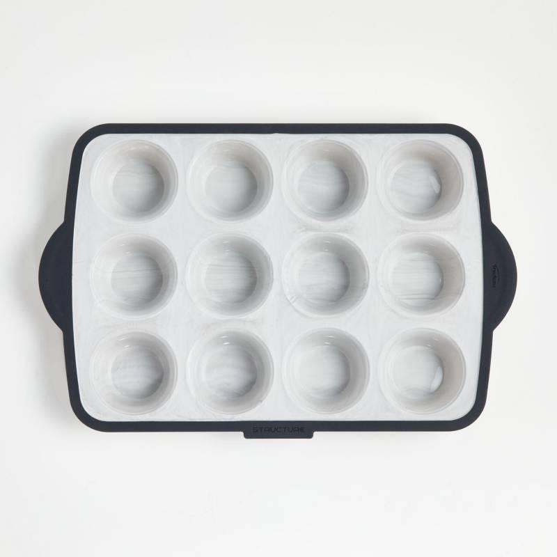 CRATE & BARREL - Molde para muffins Trudeau Silicone 12C