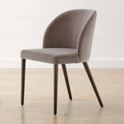 CRATE & BARREL - Silla Camille Taupe