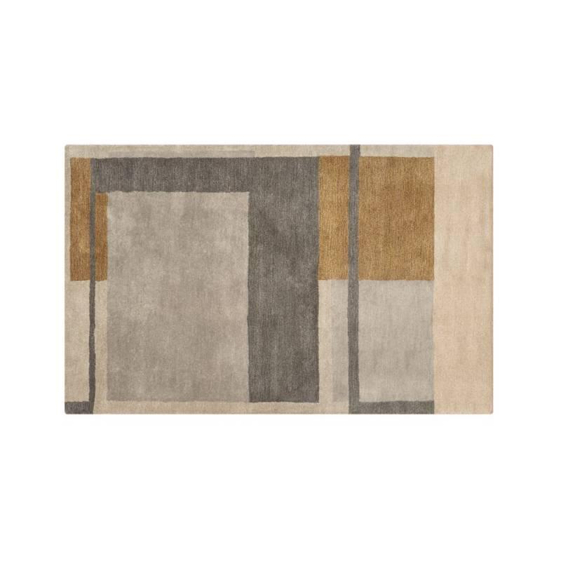 Alfombra Color Block Kirk 152x243 cm