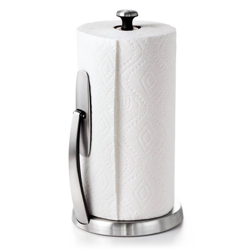 OXO - Oxo GG Simply Tear Paper Towel Holder - Brushed Ss