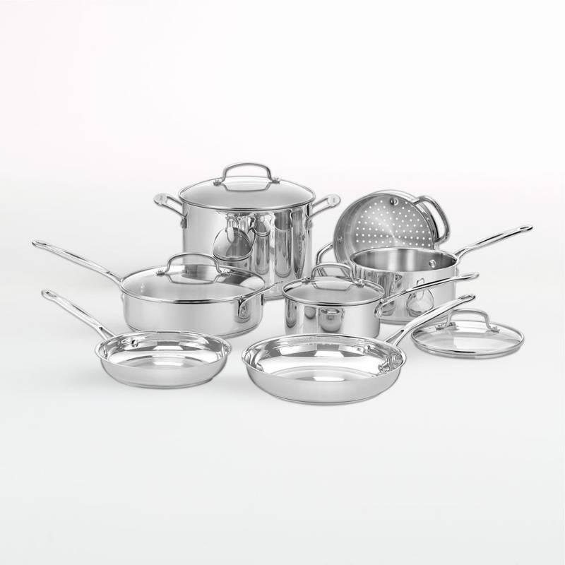 CUISINART - Juego De Utensilios De Cocina De 11 Piezas De Acero Inoxidable Chef's Classic ¿
