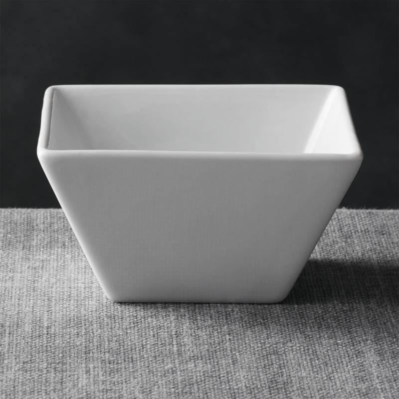 CRATE & BARREL - Bowl  Cuadrado 12cm