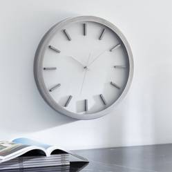 CRATE & BARREL - Reloj de Pared Huxley