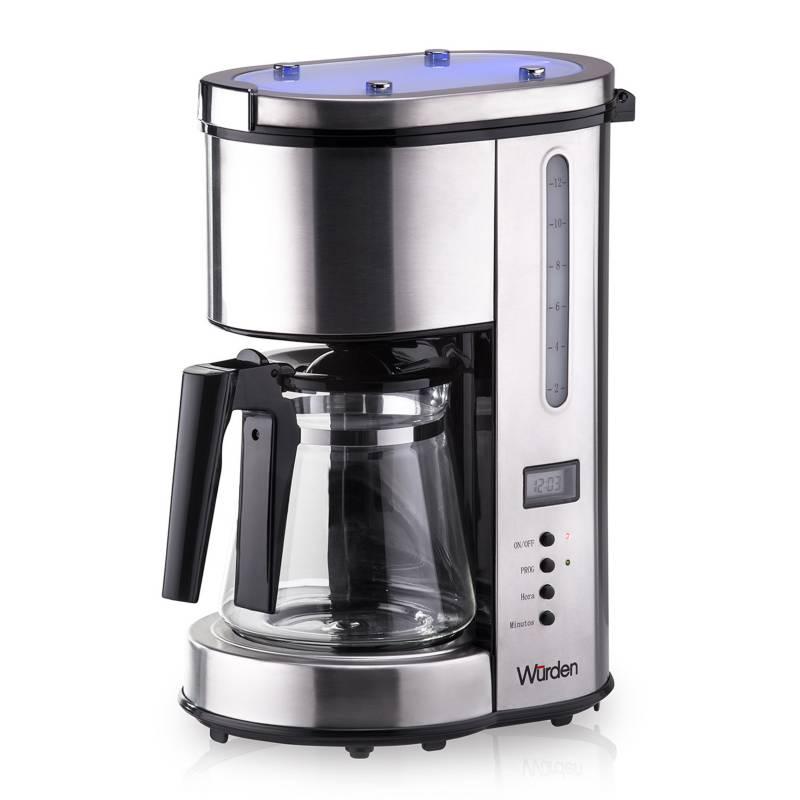 WURDEN - Cafetera WCM-1.5SSDIG 1,5 lt