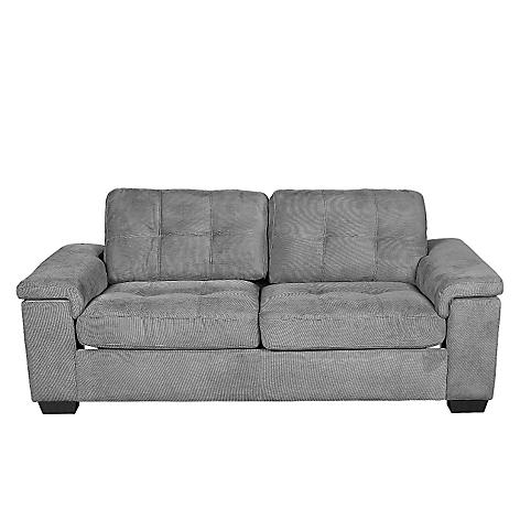 Sof cama mica bosco gris for Sofa cama sodimac