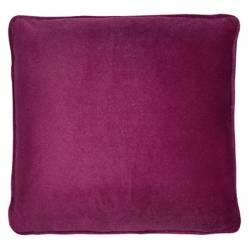 MICA - Cojín Velvet Morado 40 X 40 cm