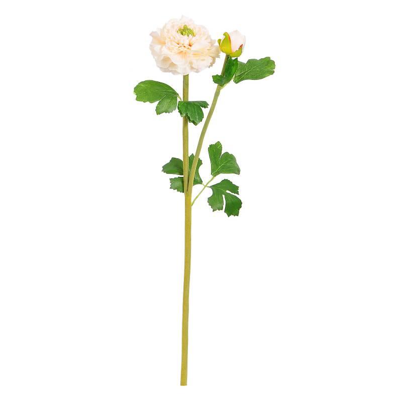 MICA - Flor Ranunculus Blanco 51 cm