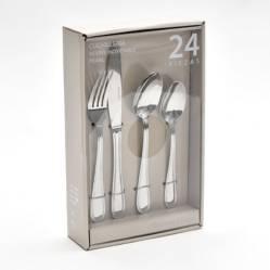ROBERTA ALLEN - Set de Cubiertos Pearl x 24 Piezas